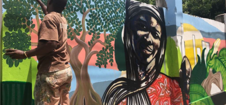 A striking new mural is getting people, especially the youth, talking about nature in the midst of streets flooded with old buses, cars and vans in Ilala Municipality, Dar es Salaam.