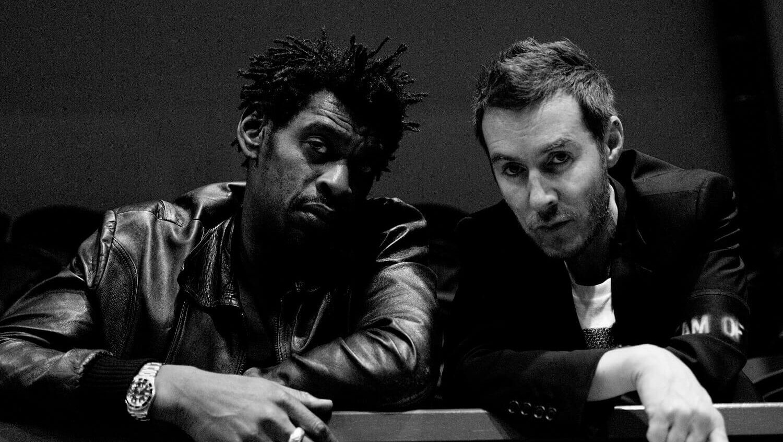 Grant Marshall & Robert Del Naja of Massive Attack